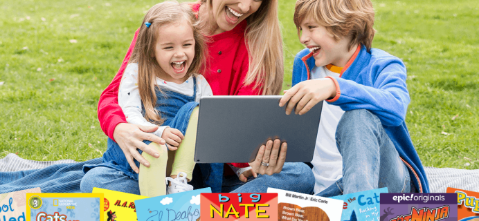 Epic! Kids Books Summer Sale: Get 3 Months For Just $3!