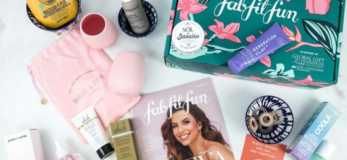 FabFitFun Summer 2019 Box Review + Coupon