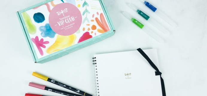 Tombow VIP Club Summer 2019 Box Review