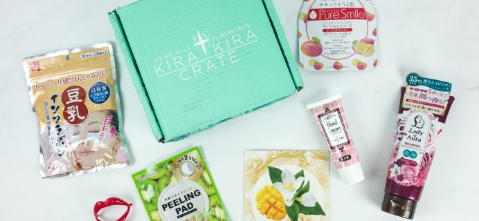 Kira Kira Crate May 2019 Subscription Box Review + Coupon
