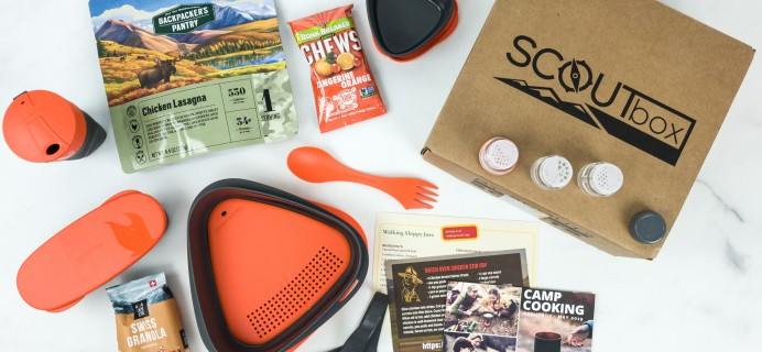 SCOUTbox May 2019 Subscription Box Review + Coupon