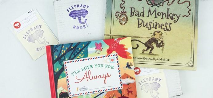 Elephant Books June 2019 Subscription Box Reviews – PICTURE BOOKS