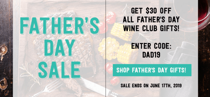 PLONK Wine Club Father's Day Coupon: Save $20 On Any Clubs!