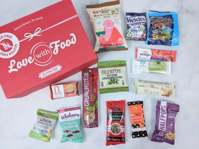 Love With Food Gluten-Free May 2019 Subscription Box Review + Coupon