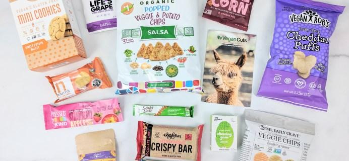 Vegan Cuts Snack Box May 2019 Subscription Box Review