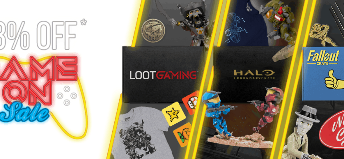 Loot Crate Sale: Get 33% Off Gaming Crates!