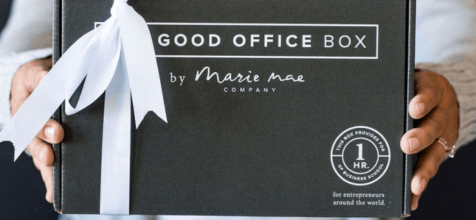 Marie Mae's Good Office Box Fall 2019 Spoiler #1 + Coupon!