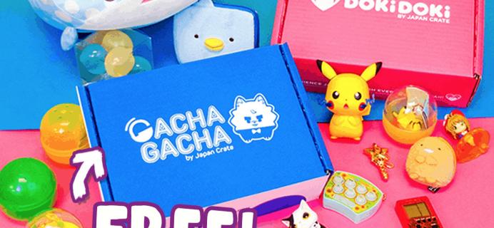 Doki Doki Coupon: Get FREE Gacha Gacha Crate!