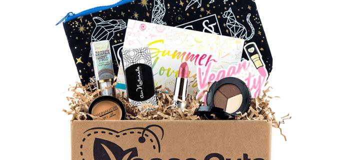 Vegan Cuts Makeup Box Summer 2019 Full Spoilers + Coupon