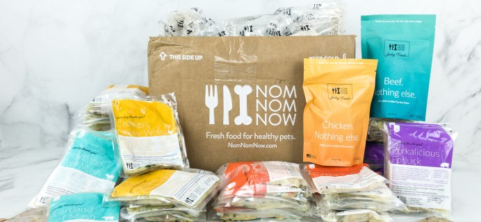 Nom Nom Fresh Dog Food Box Review & 50% Off Coupon
