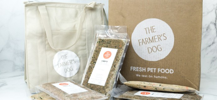 The Farmer's Dog Subscription Box Review + Coupon