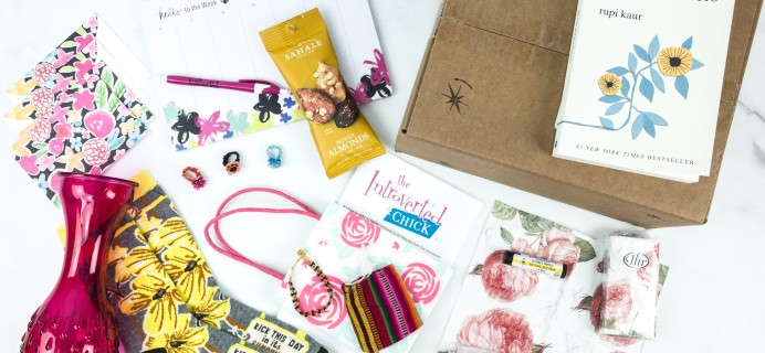 The Introverted Chick May 2019 Subscription Box Review + Coupon
