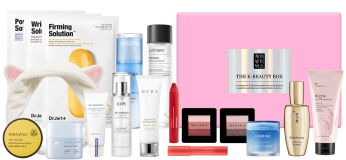New Subscription Boxes: The K-Beauty Box Available Now + Coupon!