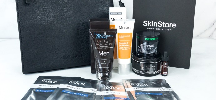 SkinStore Limited Edition Men's Collection Box Review + Coupon