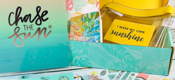 Erin Condren Seasonal Surprise Box Summer 2019 Subscription Box Review