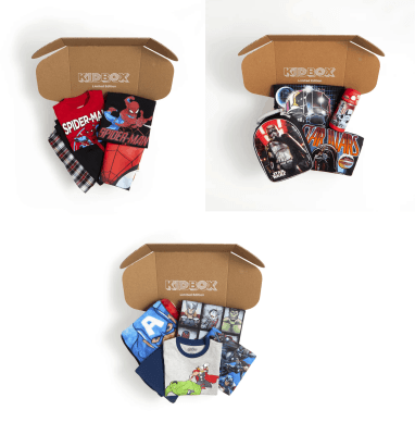 Kidbox Disney & Marvel Clothing Boxes Available Now!