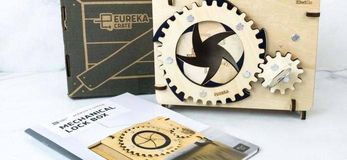 Eureka Crate Review + Coupon – MECHANICAL LOCK BOX
