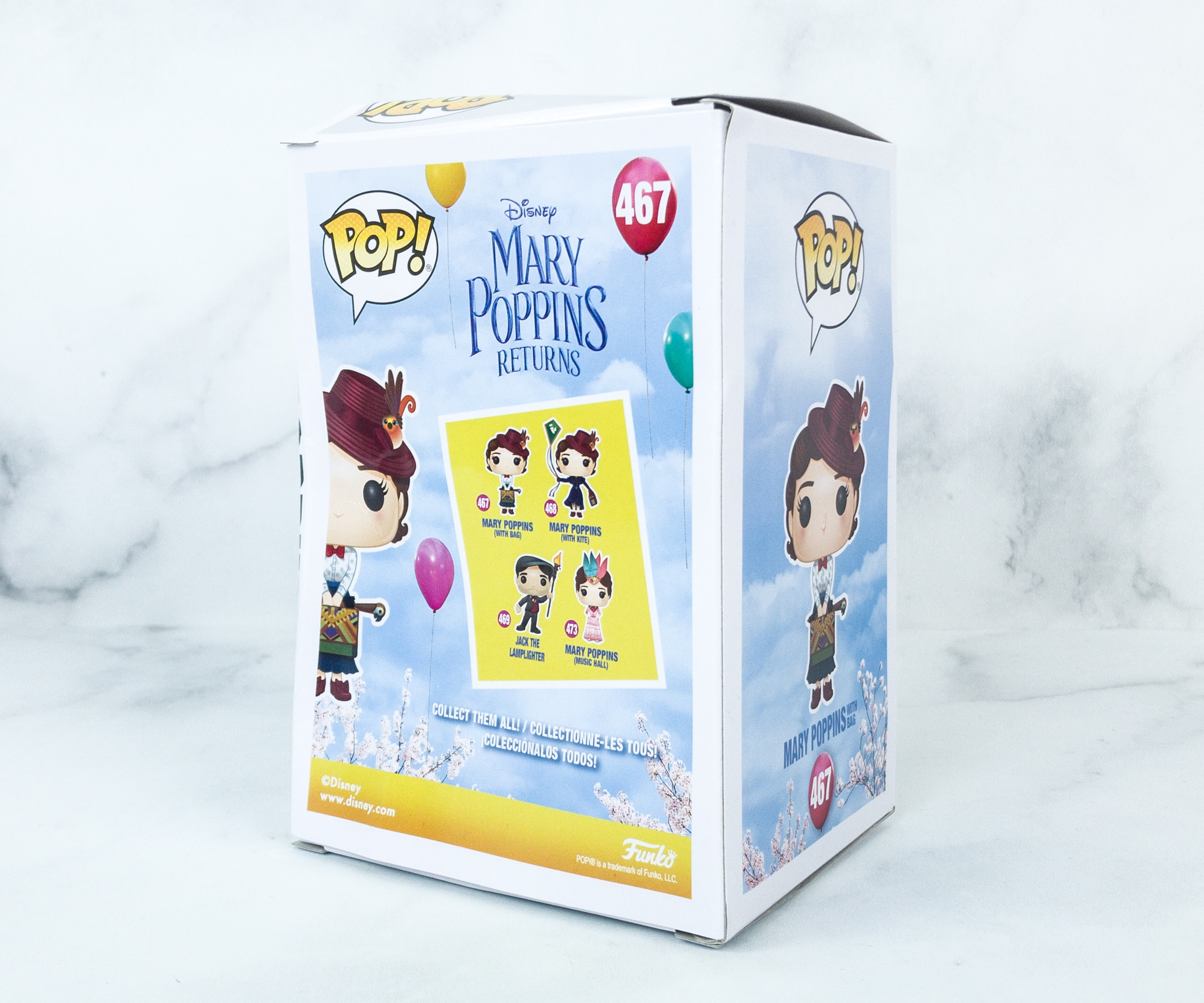 Mary Poppins at The Music Hall Brand New In Box POP Disney Funko