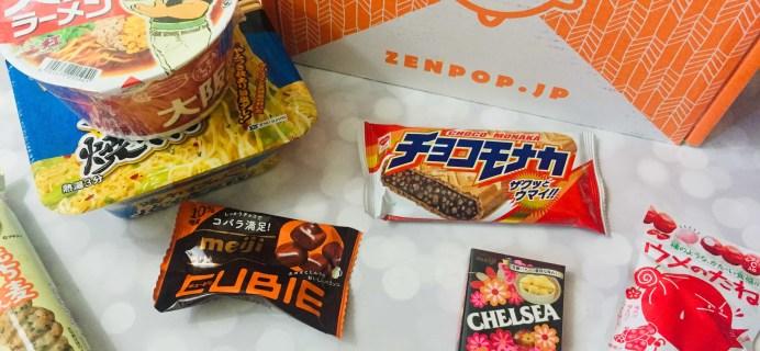 ZenPop Japanese Packs July 2019 Review – Ramen + Sweets Mix Pack