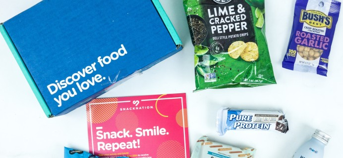 Snack Nation June 2019 Subscription Box Review + Coupon!