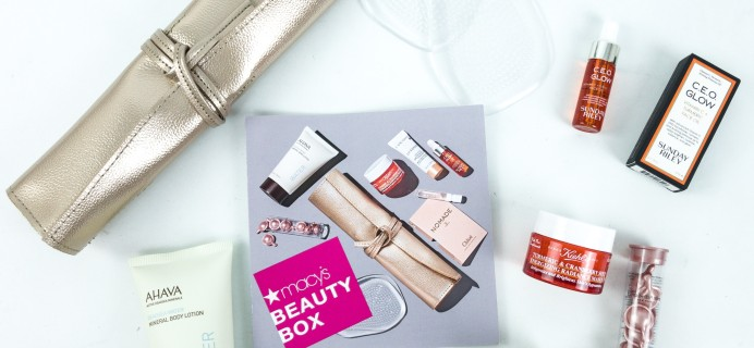Macy's Beauty Box June 2019 Subscription Box Review
