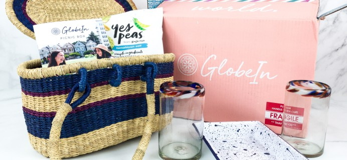 GlobeIn Artisan Box Club PICNIC June 2019 Review + Coupon