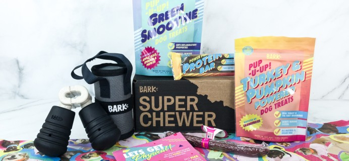 Super Chewer June 2019 Subscription Box Review + Coupon!