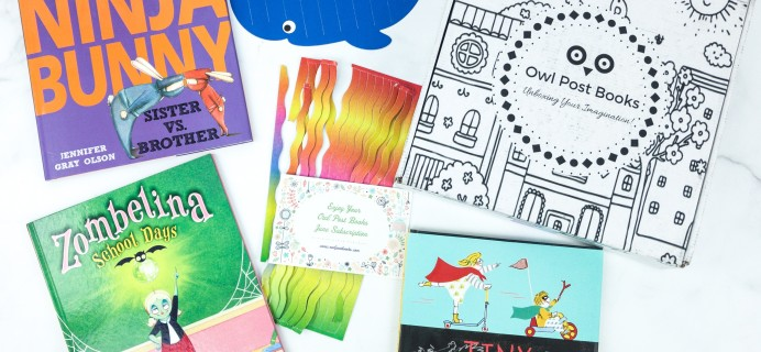 Owl Post Books Imagination Box June 2019 Subscription Box Review