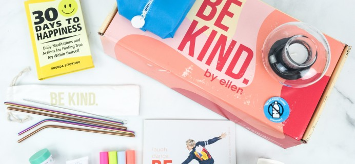 BE KIND by Ellen Box Summer 2019 Subscription Box Review