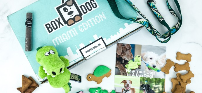 BoxDog Summer 2019 Subscription Box Review + Coupon