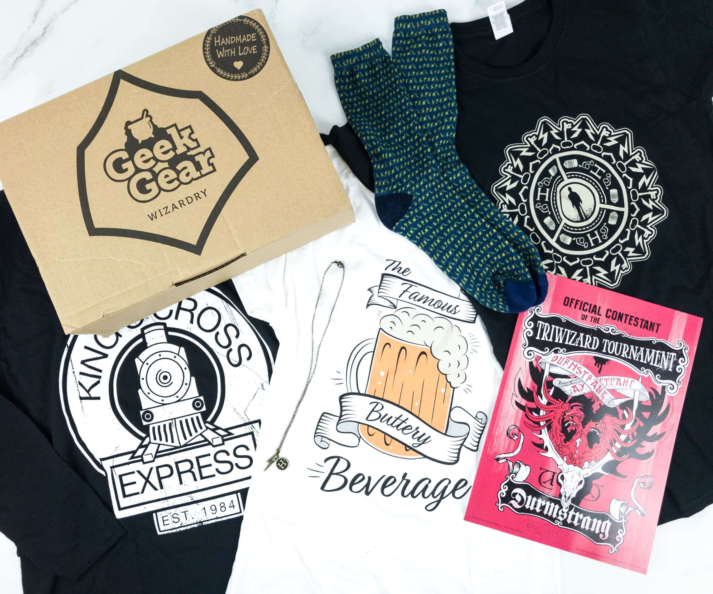 Geek Gear World Of Wizardry Wearables May 2019 Subscription Box Review Coupon Hello Subscription It's a fanfiction i need a four houses for durmstrang. geek gear world of wizardry wearables