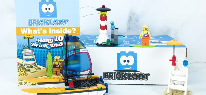 Brick Loot June 2019 Subscription Box Review & Coupon