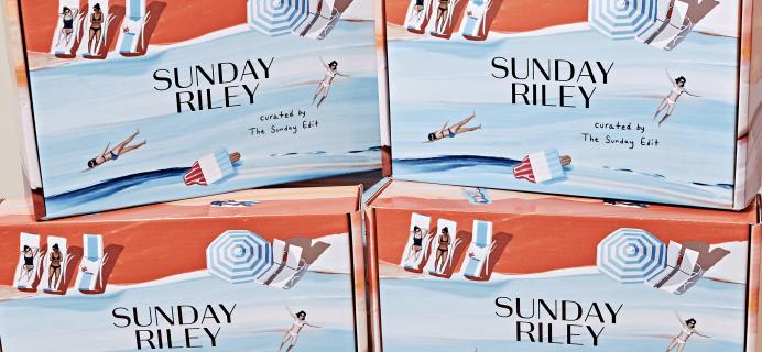 Sunday Riley Subscription Box Summer 2019 Full Spoilers!