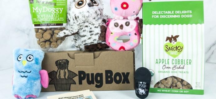 Pug Box June 2019 Subscription Box Review + Coupon!