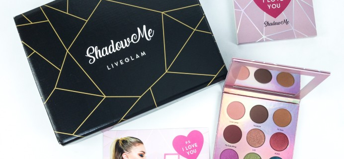 LiveGlam ShadowMe June 2019 Subscription Box Review + Coupon!