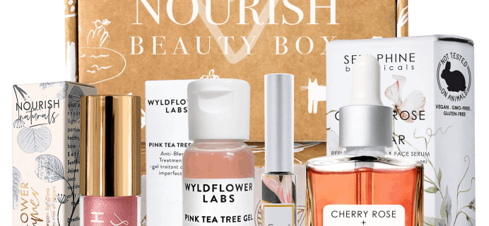 Nourish Beauty Box July 2019 Full Spoilers + Coupon!
