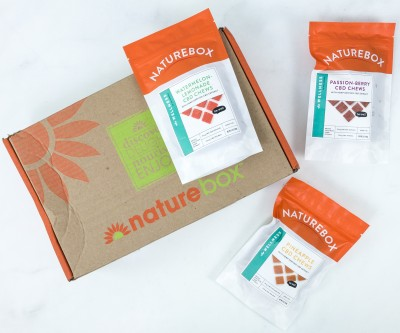 NatureBox Club Review – CBD Chews
