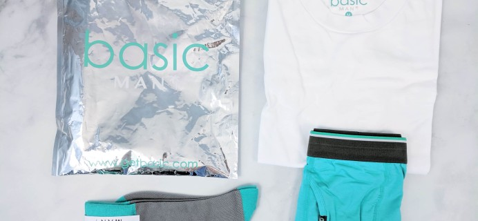 Basic MAN Subscription Box June 2019 Review + 50% Off Coupon