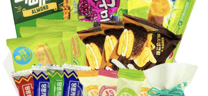 Korean Snack Box July 2019 FULL Spoilers + Coupon!