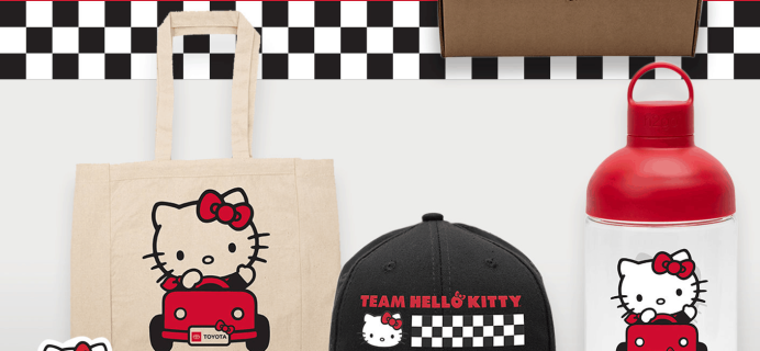 Toyota x Hello Kitty Big Smile Gift Box Available Now!