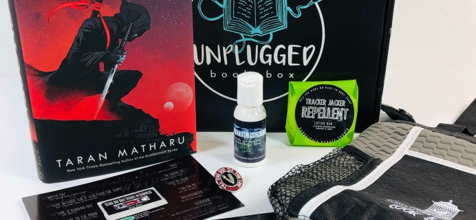 Unplugged Book Box Young Adult July 2019 Subscription Box Review + Coupon!