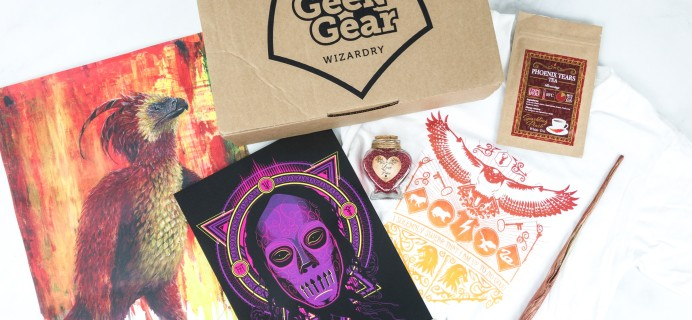 Geek Gear World of Wizardry June 2019 Subscription Box Review & Coupon
