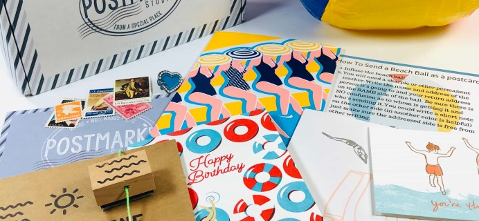 PostBox Subscription Box Review + Coupon – July 2019