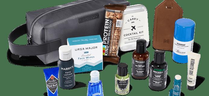 New Birchbox Man Limited Edition Box: Getaway Grooming Bag + Coupons!