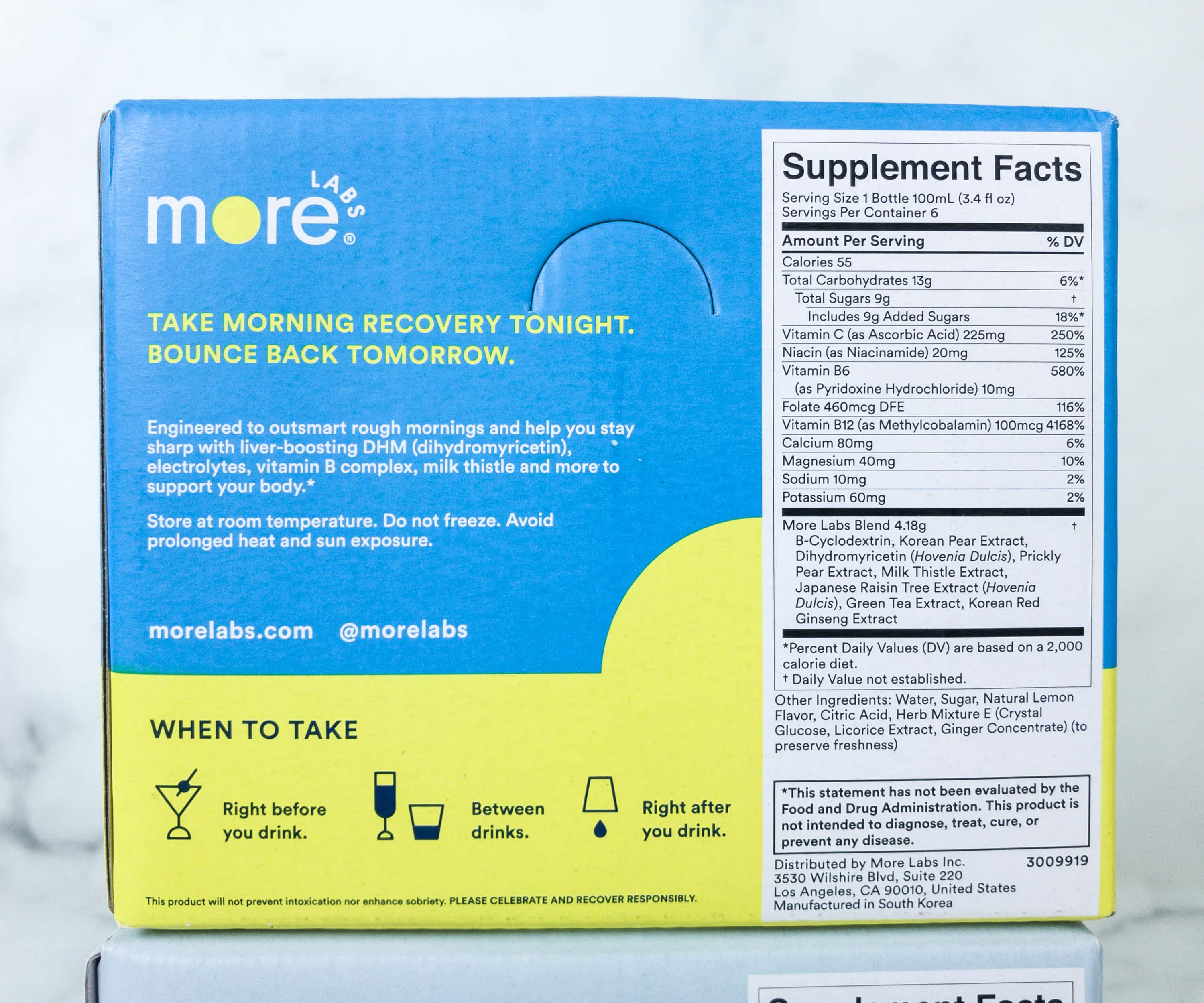 More Labs Morning Recovery Review Coupon Hello Subscription