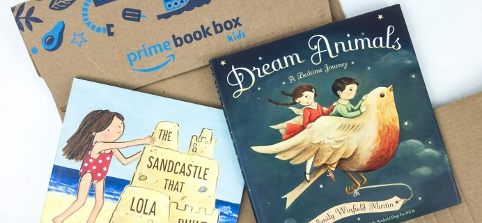 Amazon Book Box Kids Review + Coupon – AGE 3-5 June 2019