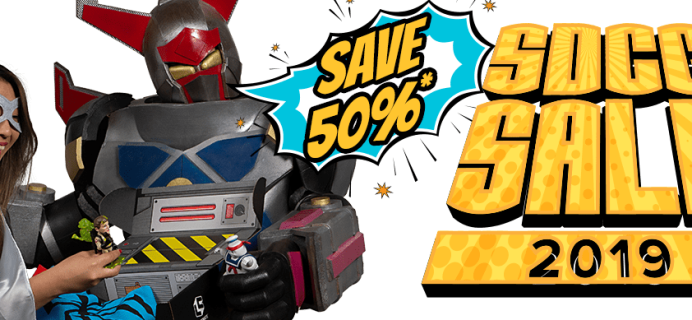 Loot Crate SDCC Sale: Get Up To 50% Off on Select Crates!