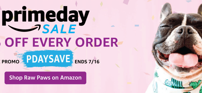 Raw Paws 2019 Prime Day Sale: Get 15% Off!