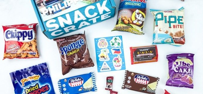 Snack Crate July 2019 Subscription Box Review & $10 Coupon