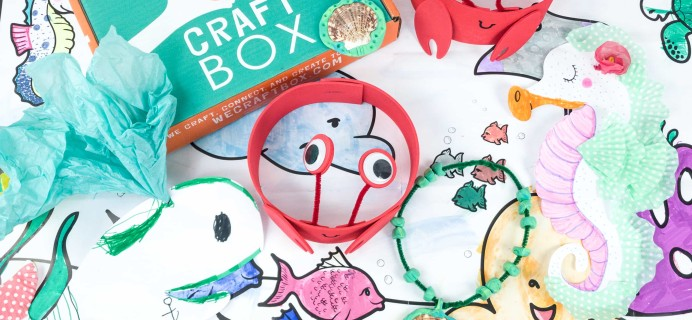 We Craft Box June 2019 Subscription Box Review + Coupons!